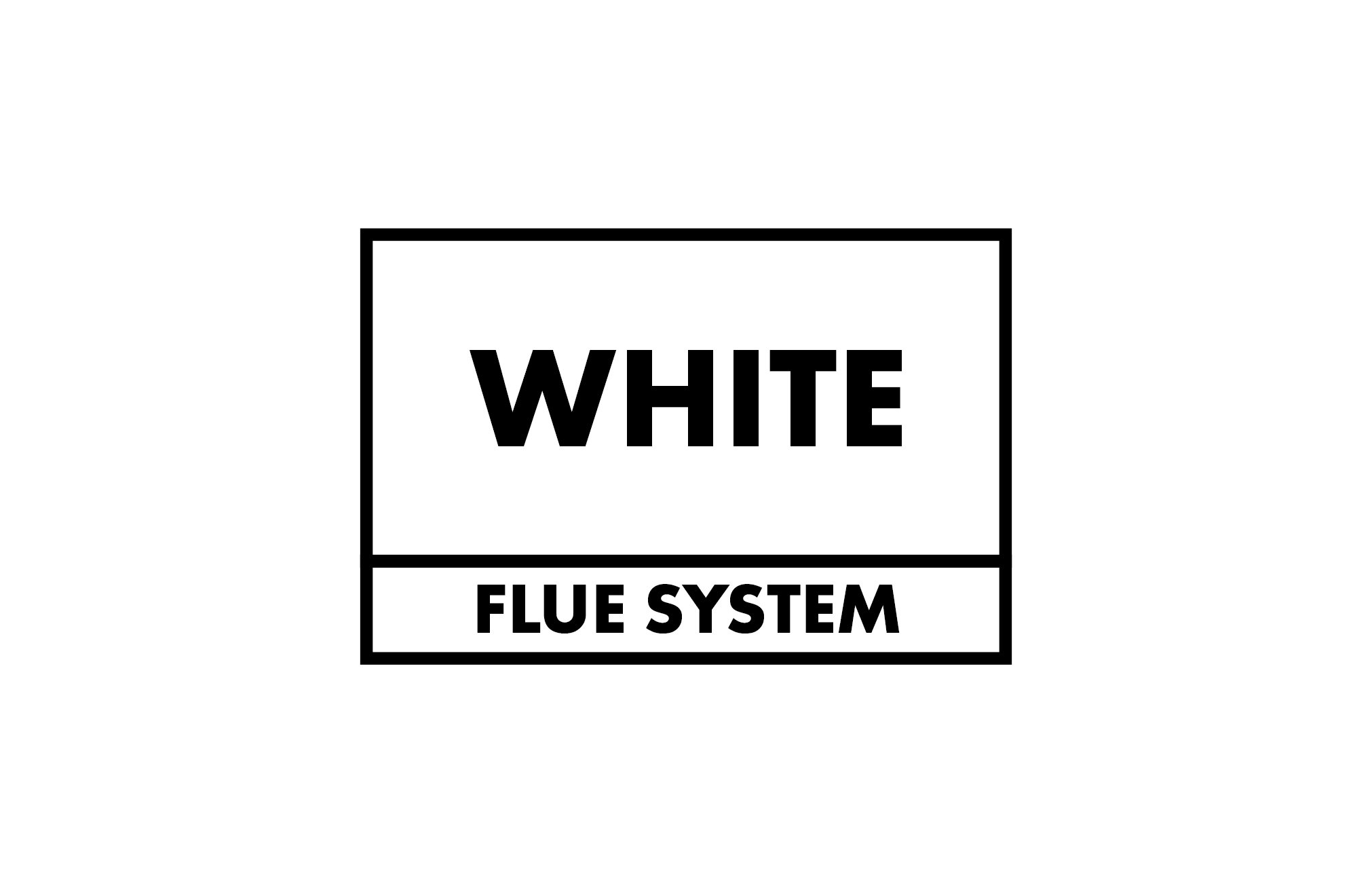 EZ Fit Flue Internal High Level Balanced Flue (White System)